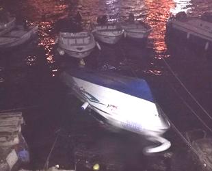 Mudanya'da tekne ters döndü, 1 ölü...
