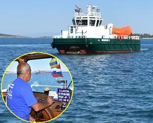 Aliağa'da deniz yüzeyine özel bakım için çalışmalara başlandı