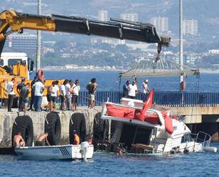 Alanya'da su alan yattaki yolcular ve mürettebat kurtarıldı