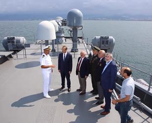 TCG Barbaros Gemisi, Ordu'da ziyarete açıldı