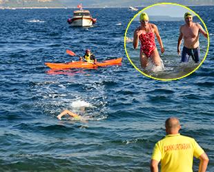 33. Çanakkale Boğazı Yüzme Yarışması düzenlendi