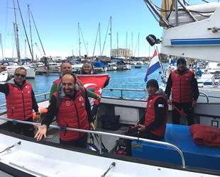 Master Yüzme Takımı, Mersin'den Kıbrıs'a yüzecek