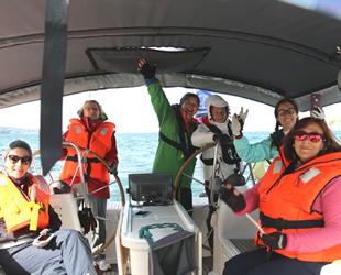 Kadın denizciler Ege sularında 'barış' için buluşacak