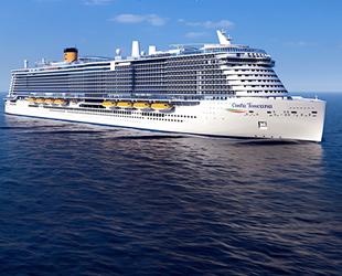 'Costa Toscana' yolcu gemisi, 2021 yılında suya indirilecek