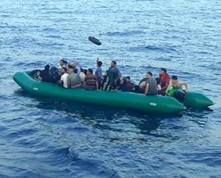 Kuşadası Körfezi'nde 83 düzensiz göçmen yakalandı