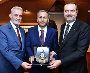 İstanbul Valisi Ali Yerlikaya, İMEAK DTO Eylül Ayı Meclis Toplantısı'na katıldı
