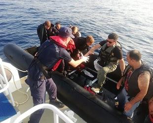 İzmir'de 18 kaçak göçmen yakalandı