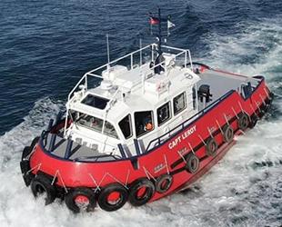 Beşiktaş Workboats'un inşa ettiği Capt Leroy göreve başladı