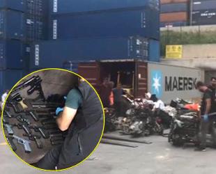 Ambarlı Limanı'nda silah ticareti operasyonu düzenlendi