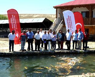 Kayseri'den 10 milyon dolarlık su ürünleri ihracatı gerçekleştirildi