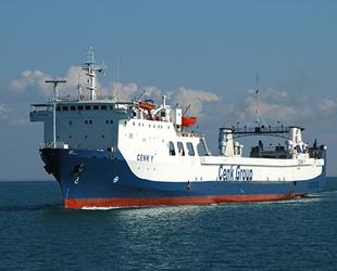 'CENK M' isimli gemi, Haydarpaşa-Odessa seferlerine başladı