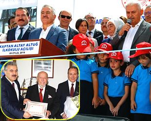 Kaptan Altay Altuğ İlkokulu, Karşıyaka'da açıldı