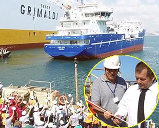 Sefine Tersanesi, 'Aqua Spa' isimli canlı balık taşıma gemisini teslim etti