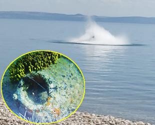 SAS Timleri, İngiliz harp mayınını denizin ortasında imha etti