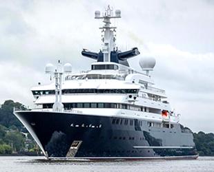 'Octopus' isimli lüks yat, 330 milyon dolara satışa çıkarıldı