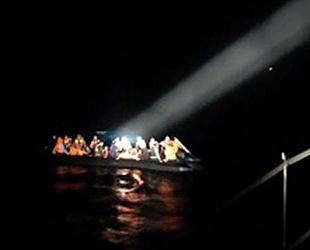 Enez'de 38 düzensiz göçmen yakalandı
