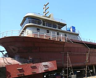 Moritanya ve Gürcistan'ın balıkçı gemileri, Ordu'da inşa ediliyor