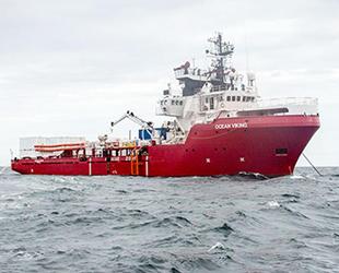 'Ocean Viking' isimli gemisi güvenli liman arıyor