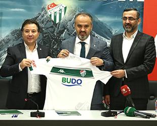 BUDO, Bursasapor ile 3,5 milyon liralık sponsorluk anlaşması imzaladı