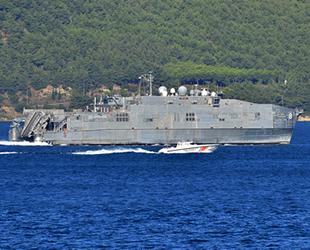 'USNS Yuma' isimli hızlı transfer gemisi, Çanakkale Boğazı'ndan geçti
