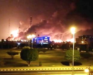 Suudi petrol devi Aramco'nun iki rafinerisini SİHA'lar vurdu
