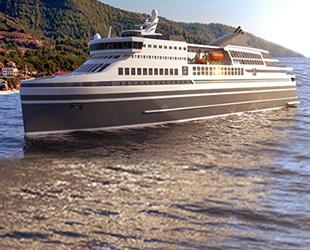 Knud E Hansen, yeni feribot tasarımını paylaştı