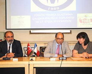 Türkiye-Fransa Ulaştırma Çalışma Grubu II. Toplantısı Mersin'de gerçekleştiriliyor