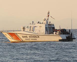 Ayvacık'ta 73 düzensiz göçmen yakalandı