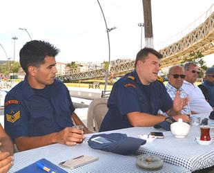 Sahil Güvenlik'ten balıkçılara 'göçmen kaçakçılığı' uyarısı yapıldı