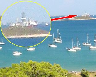 43 yelkenli, Silifke'ye demir attı