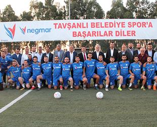 Negmar, Tavşanlı Belediyespor'a sponsor oldu