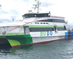 BUDO seferleri iptal edildi