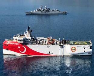 MTA Oruç Reis Araştırma Gemisi, Antalya'dan ayrıldı