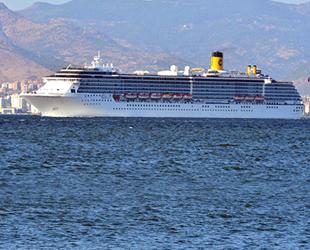 Kruvaziyer devi Costa, İzmir Limanı'na geri dönüyor
