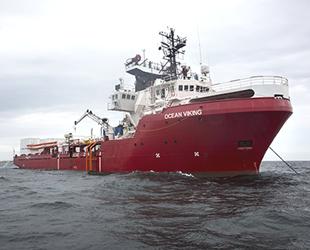 İtalya, Ocean Viking gemisinin Messina Limanı'na yanaşmasına izin verdi