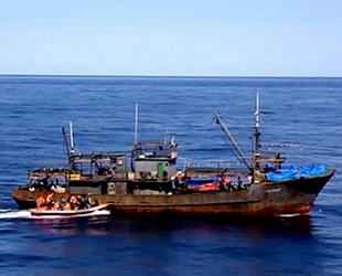 Rusya, 4 Kuzey Kore balıkçı teknesine el koydu