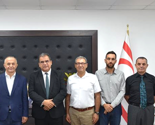 Gemi ve Yat Üreticileri Birliği üyeleri, Faiz Sucuoğlu'nu ziyaret etti