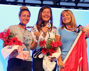 Dalış Şampiyonası'nda Rüstem Derin ve Birgül Erken şampiyon oldu