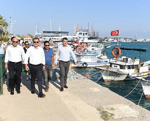 Mersin Büyükşehir Belediyesi, Taşucu Limanı'nı kiralamak istiyor