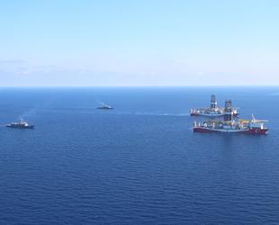'Fatih' ve 'Yavuz' gemilerine TCG Oruçreis ile TCG Gaziantep refakat ediyor