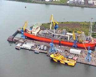 Titanik'i inşa eden Harland and Wolff Tersanesi batmaktan kurtuldu