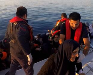 Ege Denizi'nde 490 düzensiz göçmen yakalandı