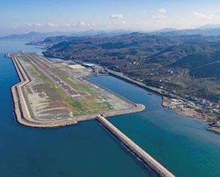 Rize-Artvin Havalimanı'nın yüzde 44'ü tamamlandı