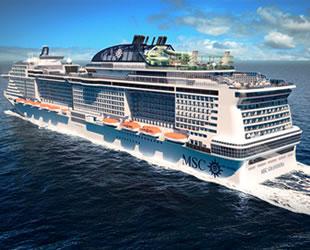 MSC Cruises, MSC Grandiosa'nın denize indirilişini çeşitli etkinliklerle kutlayacak
