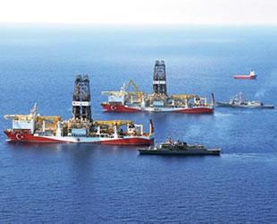 Yavuz ve Fatih 'i 20 gemi koruyor
