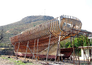 Manavgat'a tekne inşa ve çekek yeri