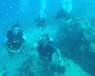 Kaş'ta yılda 80 bin dalış yapılıyor