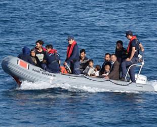 Çanakkale'de 242 düzensiz göçmen yakalandı