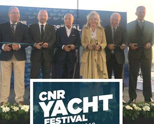CNR Yacht Festivali'nin açılışı gerçekleştirildi