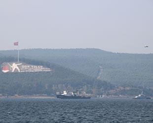 Rus askeri gemileri, Çanakkale Boğazı'ndan geçti